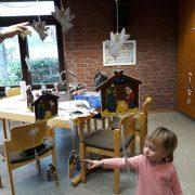 Krabbelgruppe Hummelnest im Advent